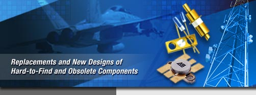 Replacements and New Designs for Hard-to-Find and Obsolete Components