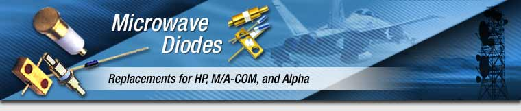 Replacements for HP, M/A-COM, and Alpha